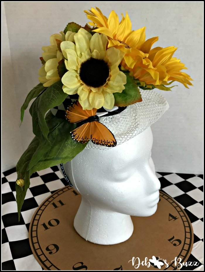 craft-yellow-butterfly-floral-fascinator