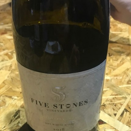 Five Stones Vineyards-Nobility-2018-White-Kosher-Israel