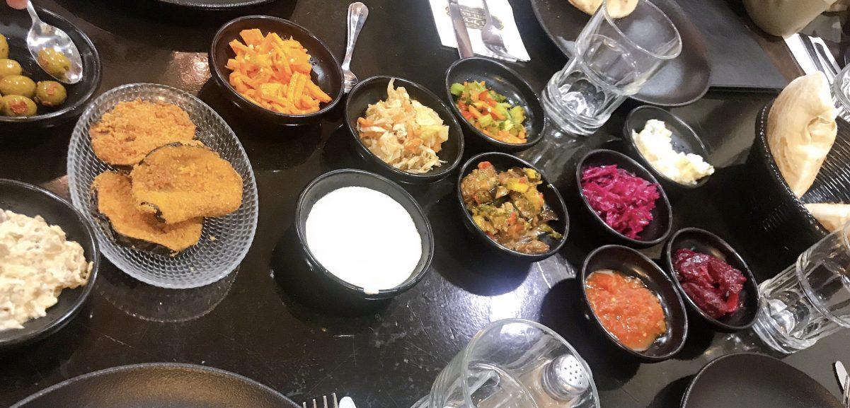 Salad Mezze - Grill Bar -Badatz - Jerusalem