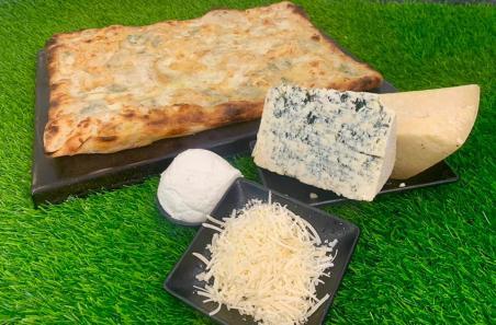 Pakino Pizza - Mehadrin - Jerusalem - Rome Style - Four Cheese Pizza