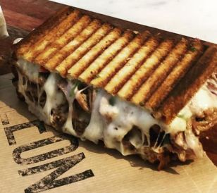 Leon Toast - Tel Aviv - Not Kosher - Cheese Toast