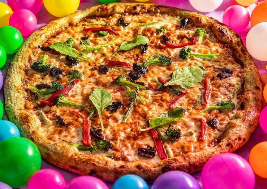 Junior Pizza - Jerusalem - Not Kosher - Vegetarian Pizza