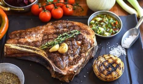 Beef Behar - Kosher Restaurant - Moshav Yaara - Aged Entrecote