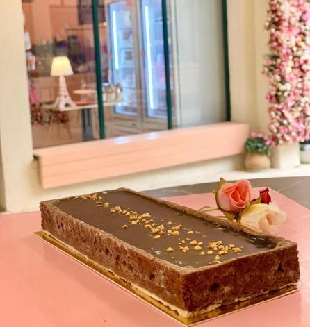 Tamar Patisserie - Kosher - Zichron Yaakov - Chocolate Nougat Pesach cake