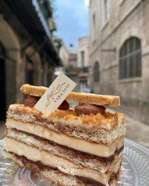 Patisserie Abu Seir - Macaron - Old City Jerusalem - Praline with chocolate ganache