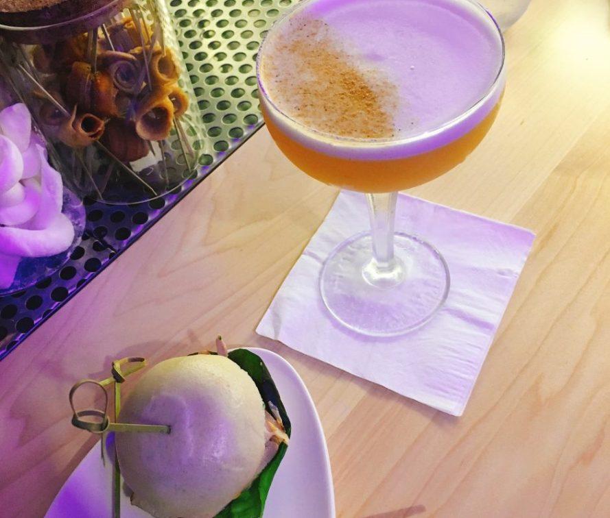 JLM Sushi - Kosher - Jerusalem - Cocktail and Veal Short Rib Bun