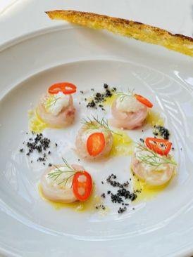 Palomino Italian Lounge - Kosher - Jerusalem - Fish Carpaccio