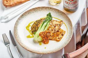 Sumac - Kosher - Villa Galilee - Tzfat - Grilled Fish - Credit - Gil Aviram