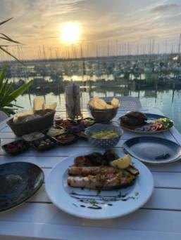 Benjamin Tapas - Not Kosher - Ashkelon Marina - View