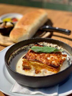 Francheska Italy - Beach Restaurant - Rishon Le Zion - Not Kosher - Lasagna