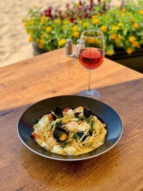 Francheska Italy - Beach Restaurant - Rishon Le Zion - Not Kosher - Seafood Pasta