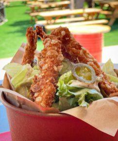 Mashsav Food Trucks - Kibbutz Shoeva - Crispy Chicken