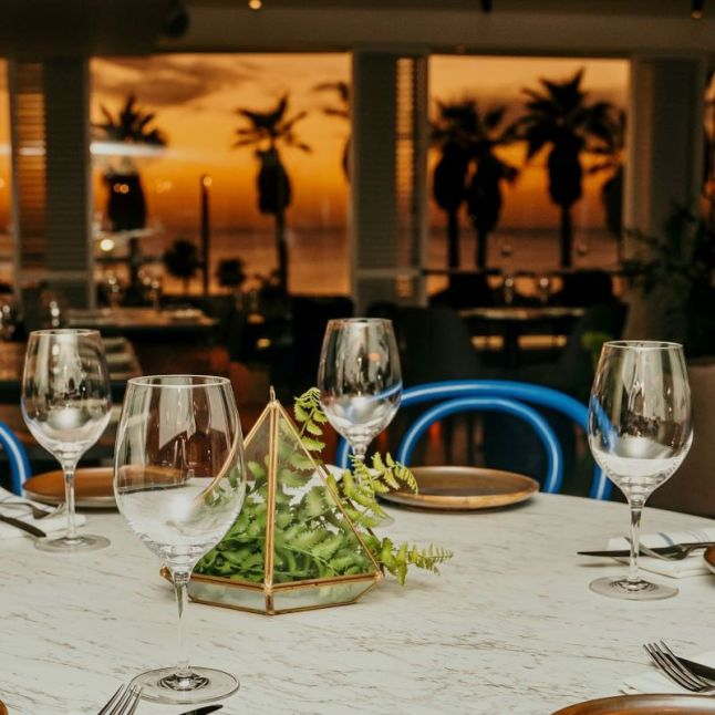 Animar Restaurant - Not Kosher - Tel Aviv - Night View