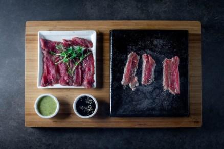 Kura - Asian Food Sushi - Bat Yam Beach - Seared Beef