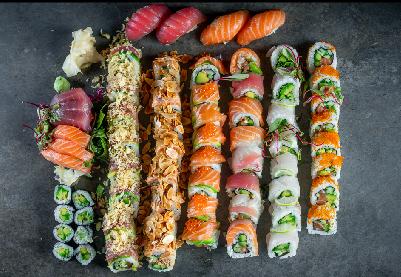 Kura - Asian Food Sushi - Bat Yam Beach - Sushi Combination