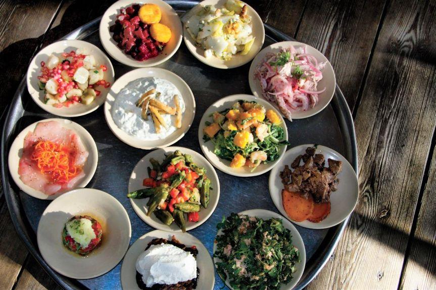 Manta Ray - Tel Aviv Beach restaurant - Not Kosher - Mezze
