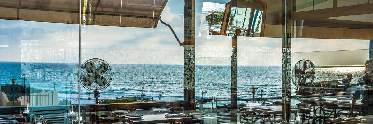 Turkiz Restaurant - Sea & Sun - Tel Aviv - Not Kosher - View