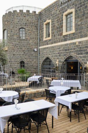 Hermitage - Kinneret - Not Kosher - Outside Terrace