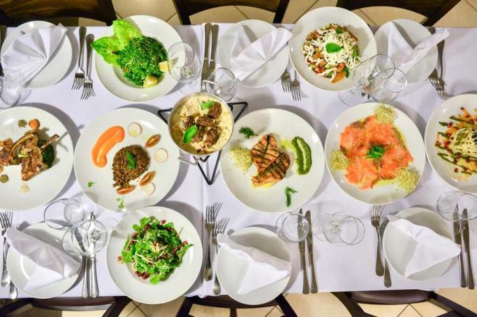 Hermitage - Kinneret - Not Kosher - Salads