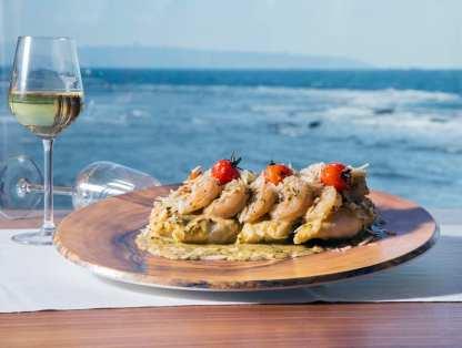 Mina Restaurant - Akko - Fish Restaurant - Not Kosher - Shrimps