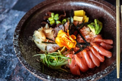 Papasan - Kosher - Asian Restaurant - Givatayim - Sushi Bowl