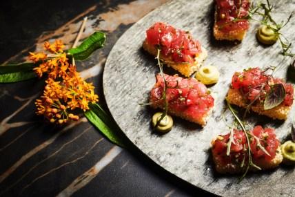 Sun Young - Asian Restaurant - Tel Aviv - Red Tuna Crispy Rice - Credit Ben Yuster