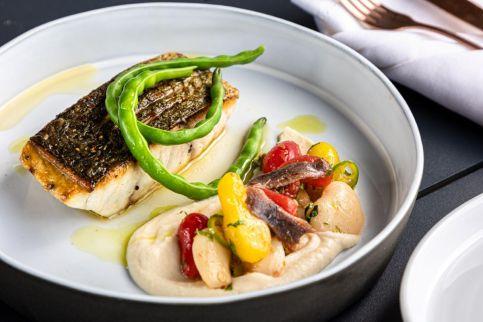 Sphera Kitchen Bar - Kosher - Rehovot - Grilled Fish - Credit Sarit Goffen