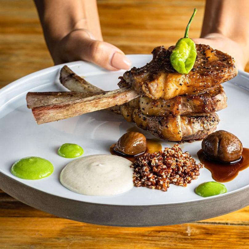 Sphera Kitchen Bar - Kosher - Rehovot - Lamb Chops - Credit Sarit Goffen