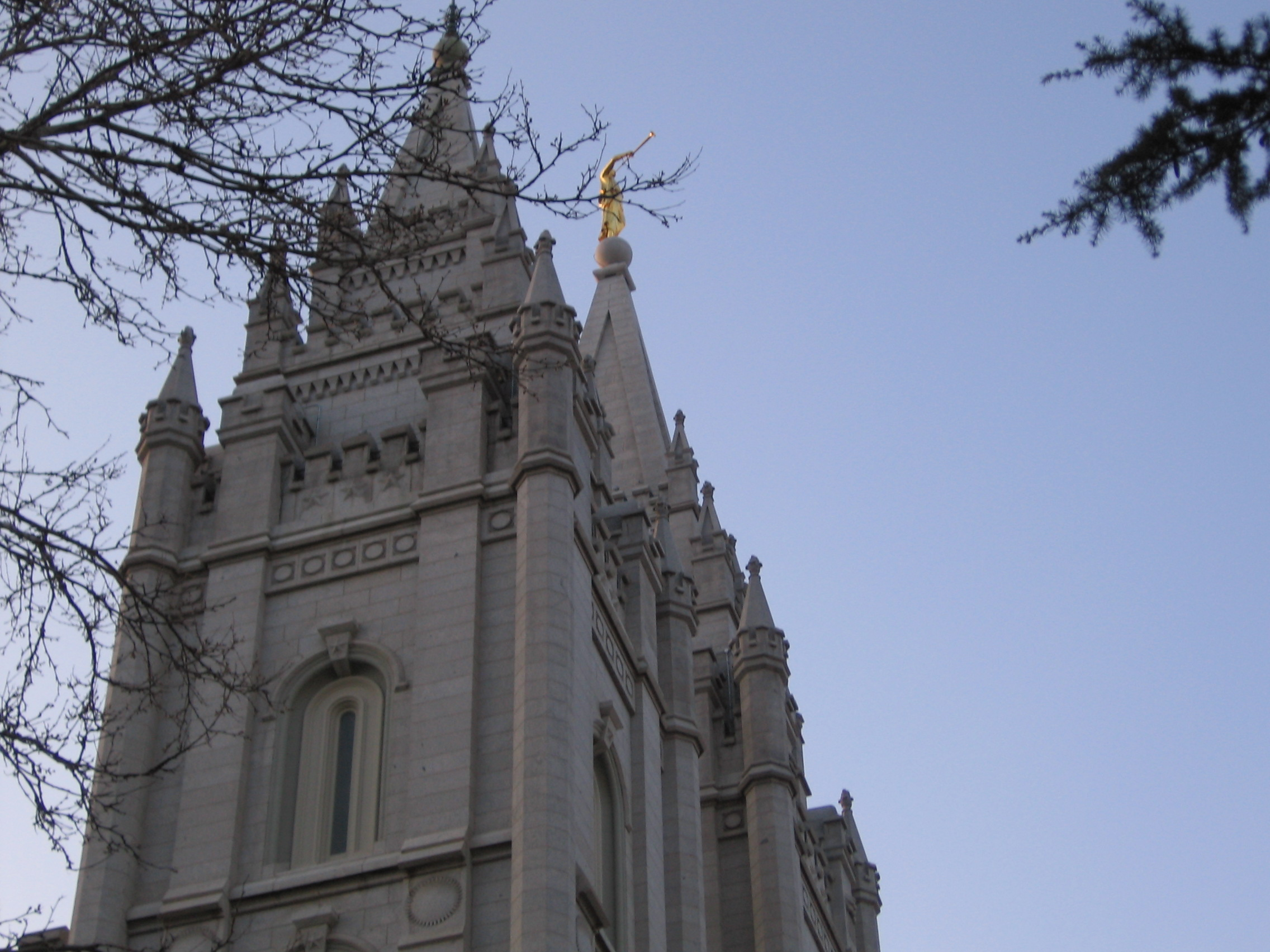 the Mormon Temple