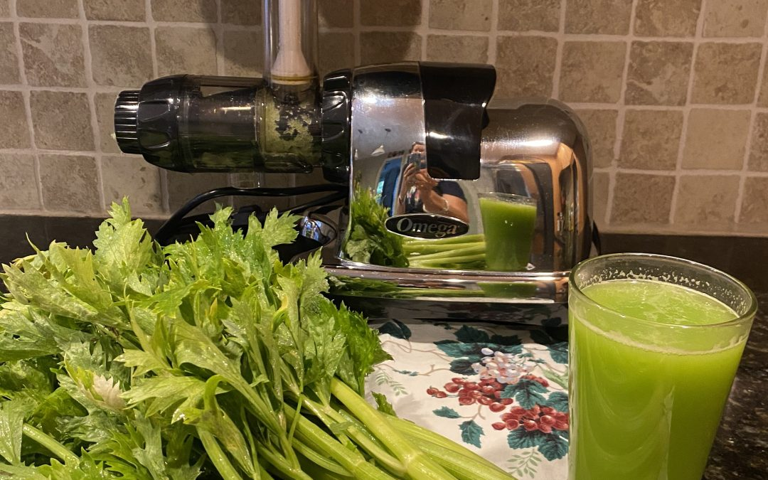 Cleanse and and heal your body with celery juice