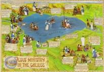 耶穌在加利利湖行過的神蹟