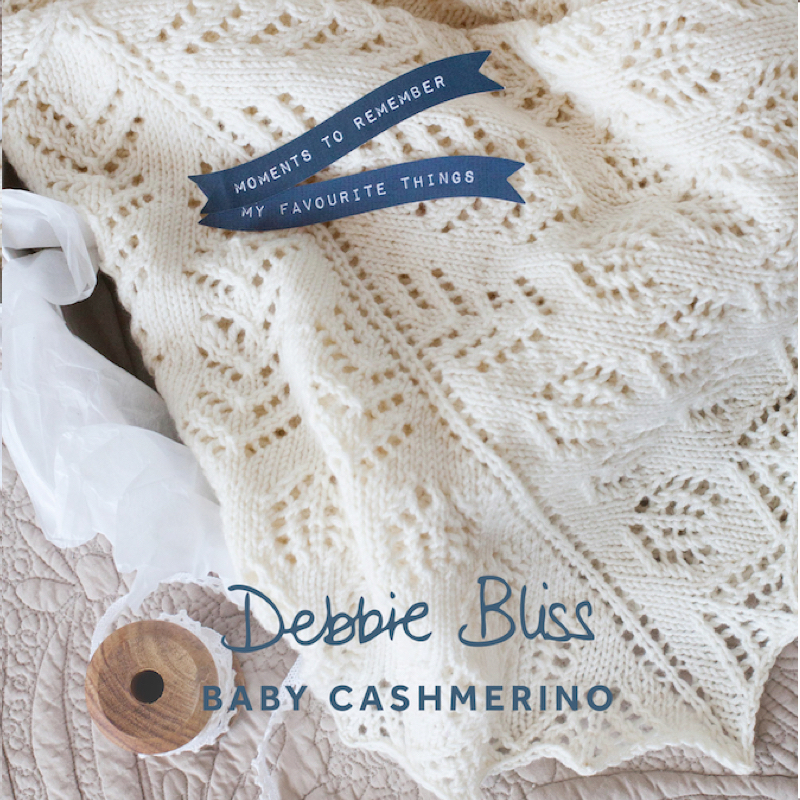 Baby Cashmerino Baby Blanket Debbie Bliss