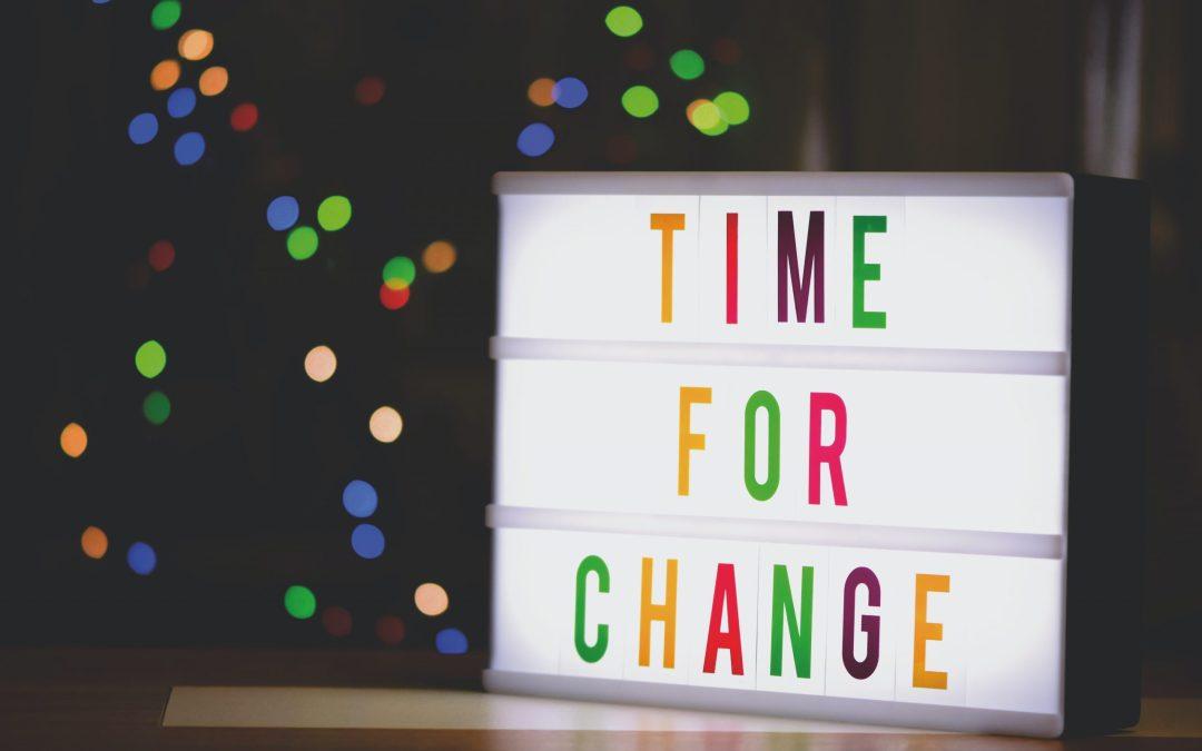 How do you create change?