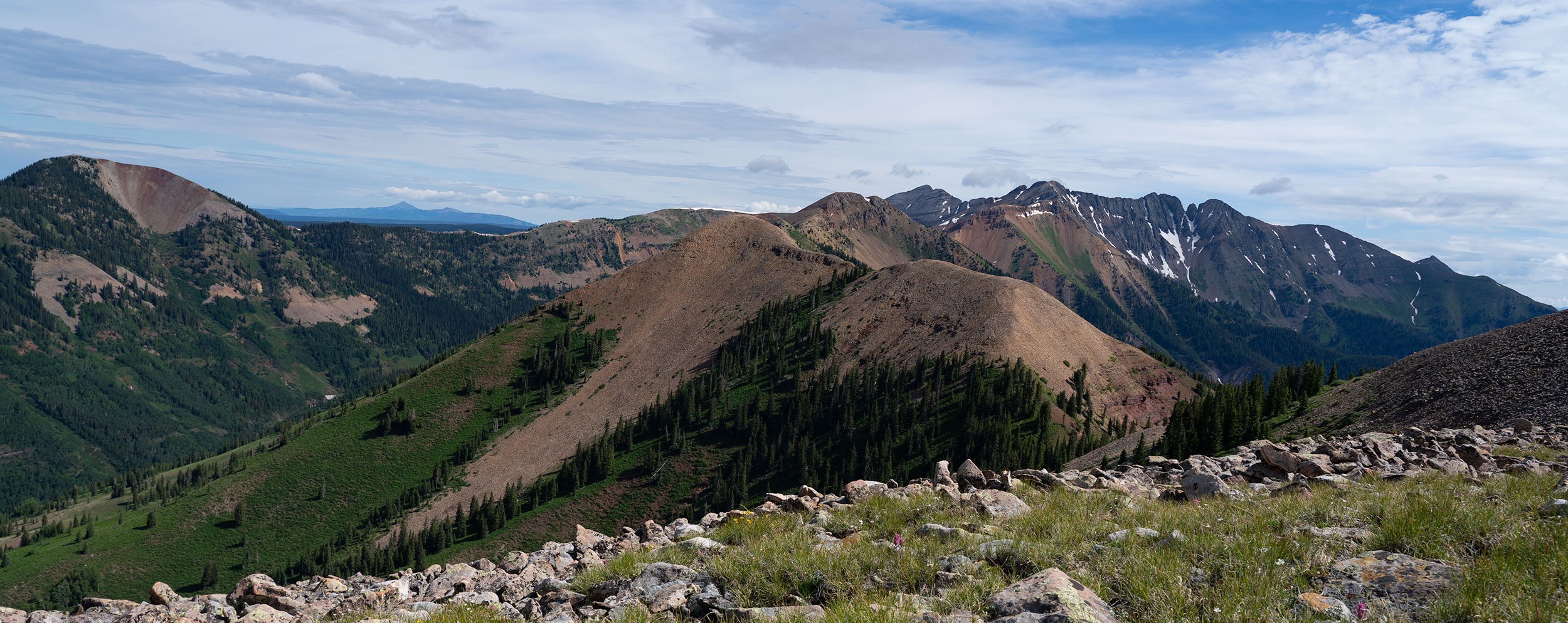 Top of Madden Peak - Copyright Debbie Devereaux Photography
