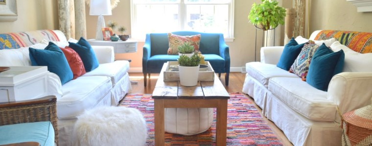 Adding Moroccan Style To Our Living Room