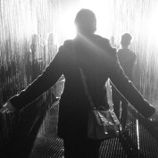 November: Rain Room at the Barbican