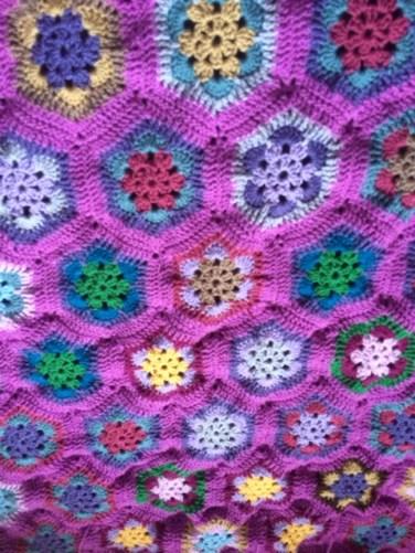 Hexi blanket finished