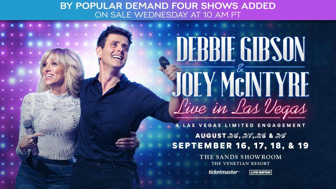 Debbie & Joey NEW SHOWS Website