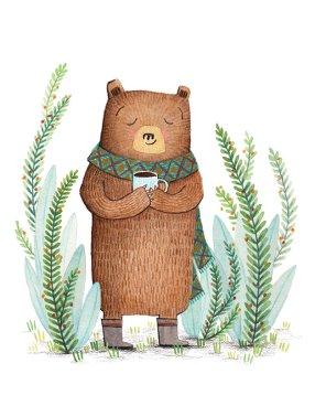 Bear loves Coffee