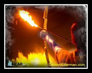 firery arrows