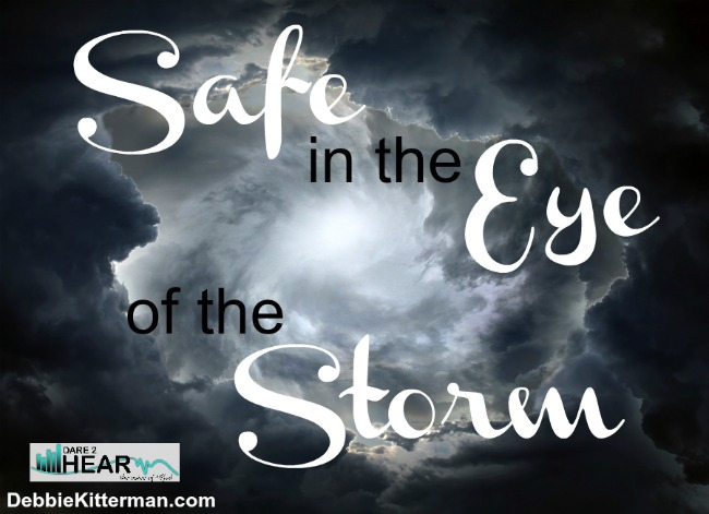 Safe in the Eye of the Storm & Book Give Away