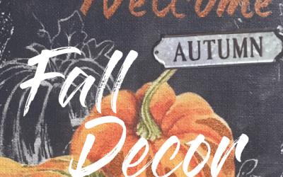 Fall Decor & Tune In Thursday #32