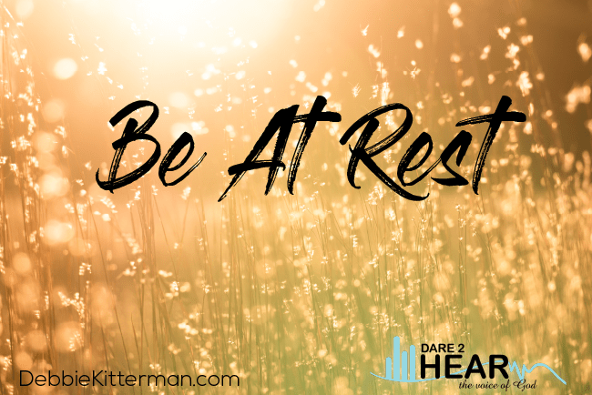Be at Rest: Being a Psalm 23 Person + Tune In Thursday #203