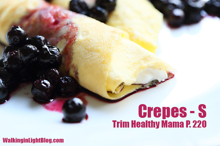 Trim Healthy Mama, Crepes