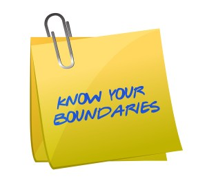 Know Your Boundaries. Illustration Design