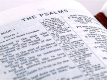 open bible - psalms