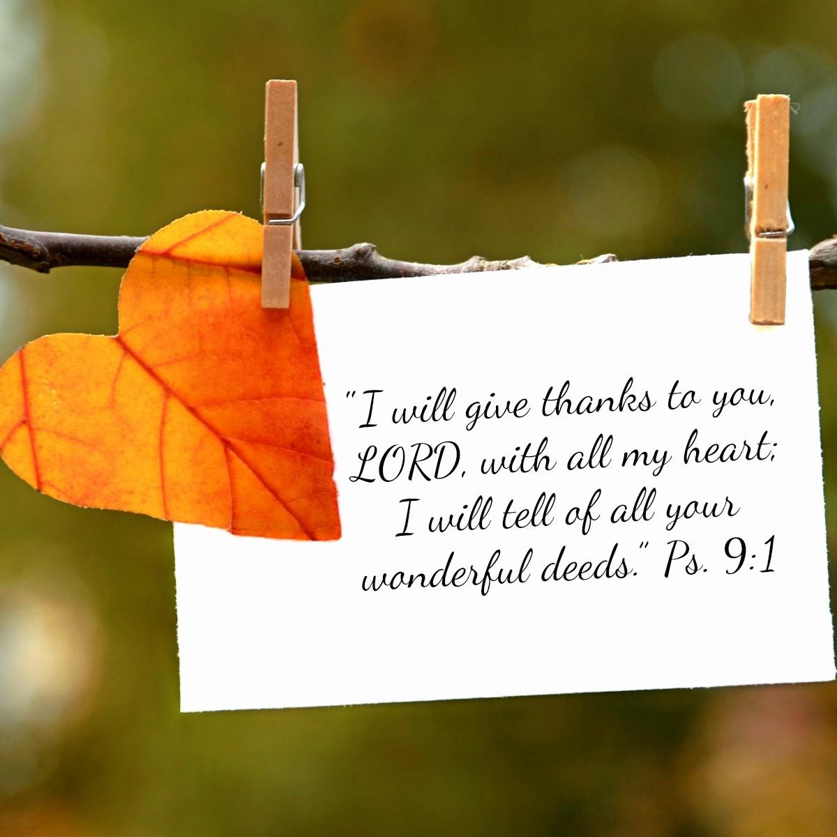 Heart scripture about grateful 21 Gratitude
