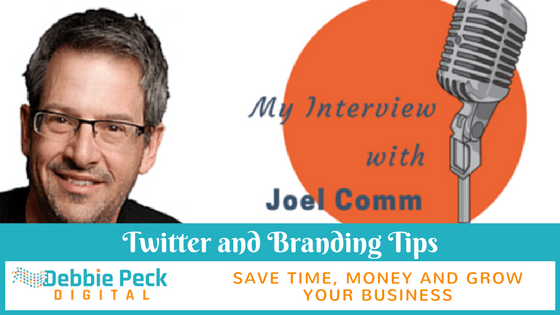 Twitter & Branding Tips With Joel Comm – My Interview