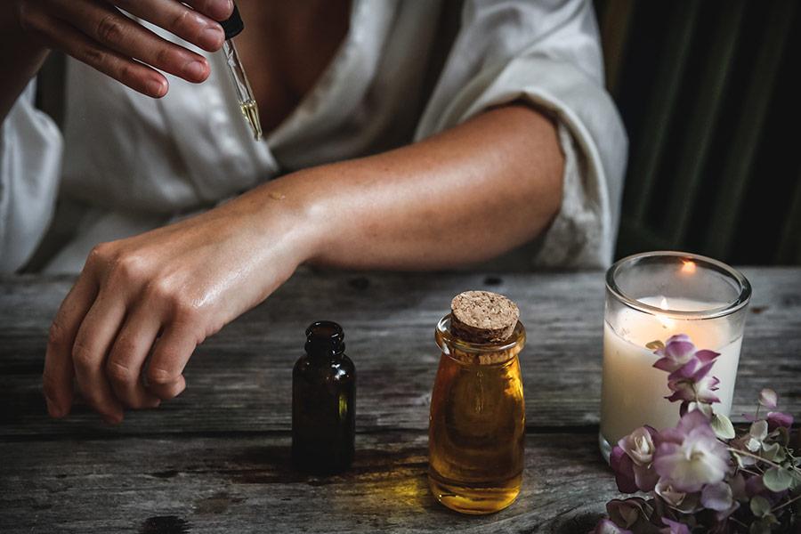 Juniper-Pine Massage Oil