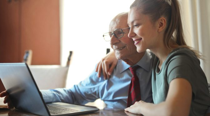 Breath In, Breath Out and Stay Calm When Teaching Your Elderly Parents about Technology